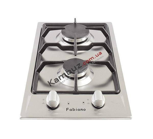Варочная поверхность газовая Fabiano FHG 13-2 VGH Inox