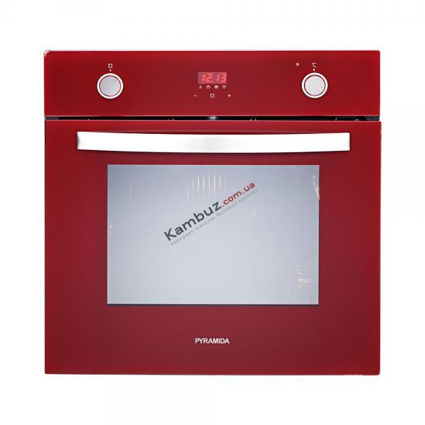 Духовой шкаф электрический PYRAMIDA F 84 EIX-P (red) LUXE