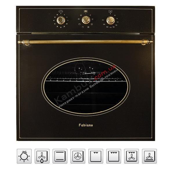 Духовой шкаф электрический Fabiano FBO-R 42 Antracit
