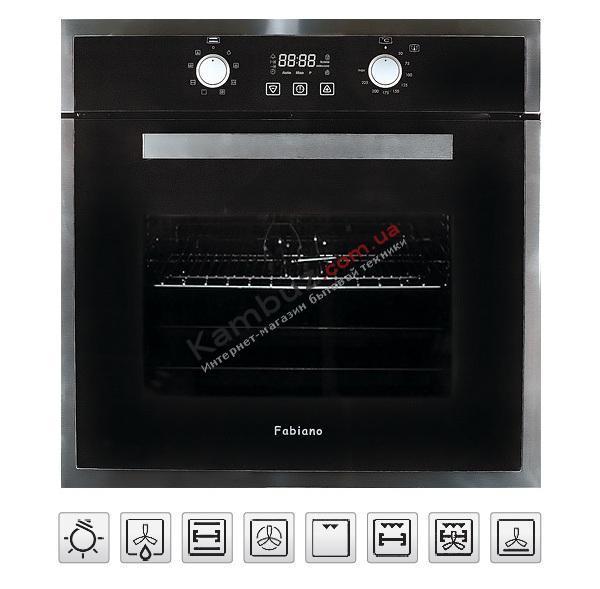 Духовой шкаф электрический Fabiano FBO 35 Lux Inox
