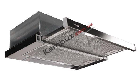 Вытяжка кухонная телескопическая MEKAPPA SLIMLUX 60 нержавеющая сталь