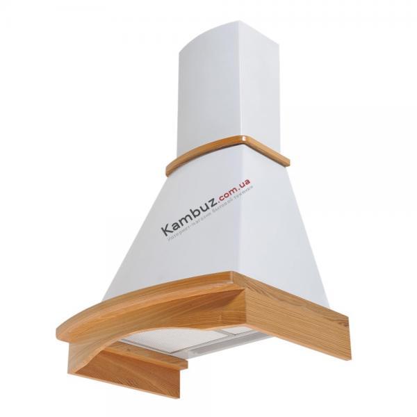 Вытяжка кухонная купольная PYRAMIDA R 60 WHITE NUT/U