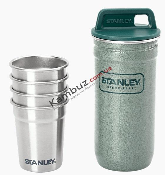 Фляга Stanley Adventure + 4 стопки Combo Зеленый