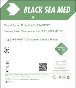 Фото Для стоматологических клиник, Расходные материалы Валики ватные №2  Black Sea Med(1000шт)