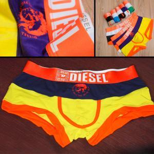Фото Бельё Diesel Новинка! трусы Diesel боксёры жёлтая полоса