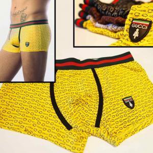 Фото Трусы Gucci & DG Трусы боксёры Gucci жёлтого цвета