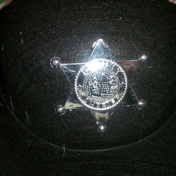 Карнавальная шляпа Шериф