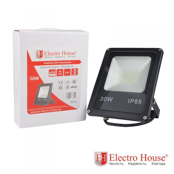 LED прожектор 30W  ElectroHouse EH-LP-207