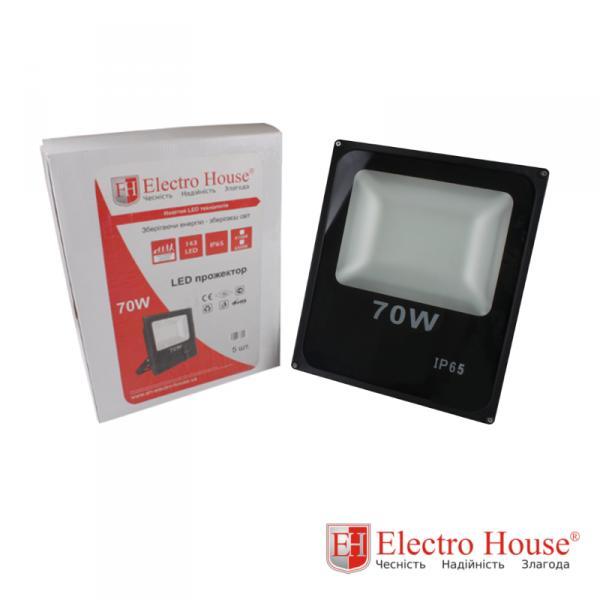 LED прожектор 70W ElectroHouse EH-LP-209