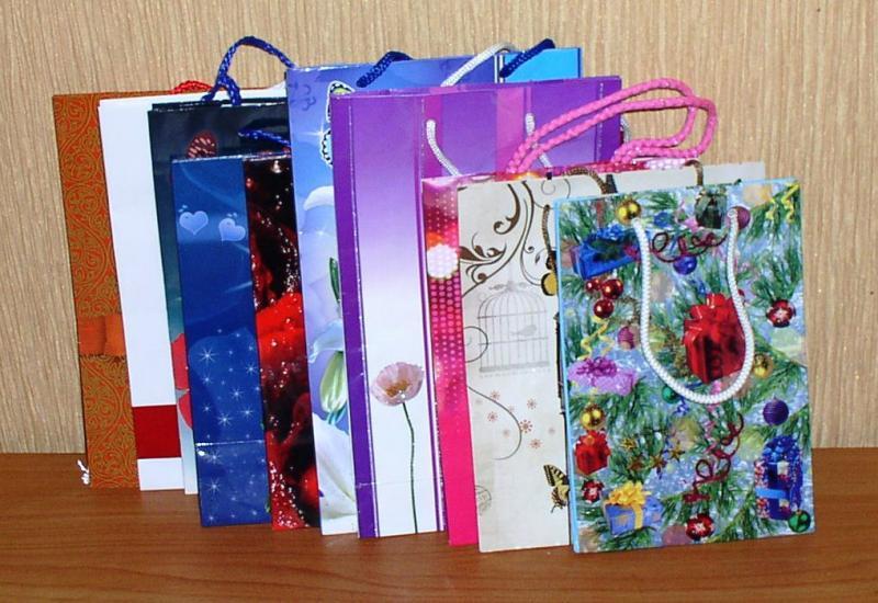 Пакет подарочный малый *5414 *6051 *6052