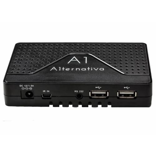 Спутниковый цифровой HDTV ресивер с функцией IPTV медиаплеера U2C S+ A1 ternativa