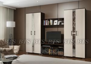 Фото  BTS мебель- Гостиная Флоренция Модульная