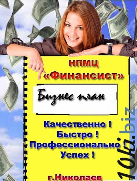Разработка Бизнес плана под заказ. Бизнес план под ключ,ъ в  Николаеве.