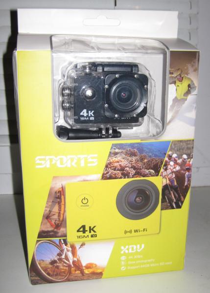 Экшен камера V3 4K, WiFi
