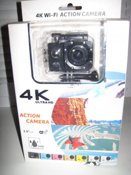 Экшен камера F6V3 4K, WiFi