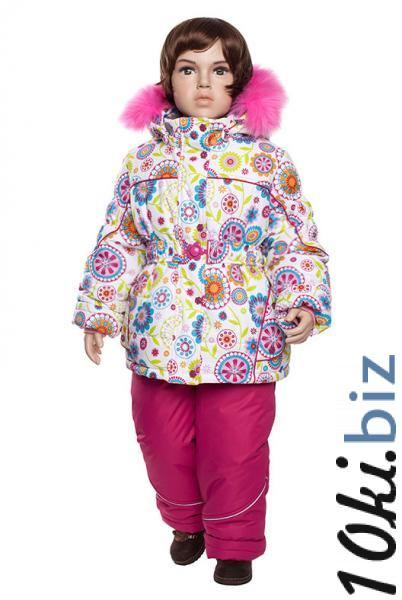 """Комплект для девочки КД 15-2 """"Одуванчик"""" (бол) Lapland(86-128) Комбинезоны, полукомбинезоны зимние для девочек в России"""