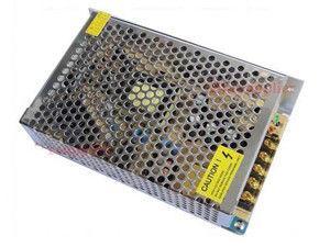 Фото Блоки питания Блок питания в перфорированном металлическом корпусе K-60W-12V-5А