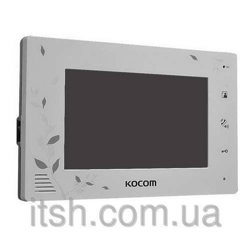 Цветной домофон Kocom KCV-A374 SD на 2 камеры