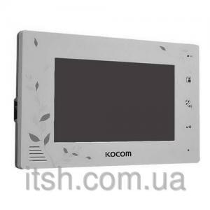 Фото Видеодомофоны Цветной домофон Kocom KCV-A374 SD на 2 камеры