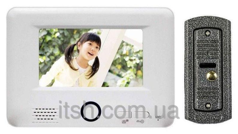 Комплект Домофон и вызывная панель Jeeja (HK)  JS-S739E1