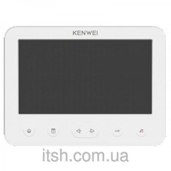 Цветной видеодомофон Kenwei  E706FC (white)