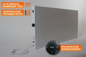 Фото Обогреватели СО ГРЕЙ Электрический обогреватель ГРЕЙ 400КР