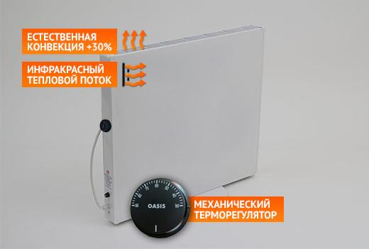 Электрический обогреватель ГРЕЙ 300КТ