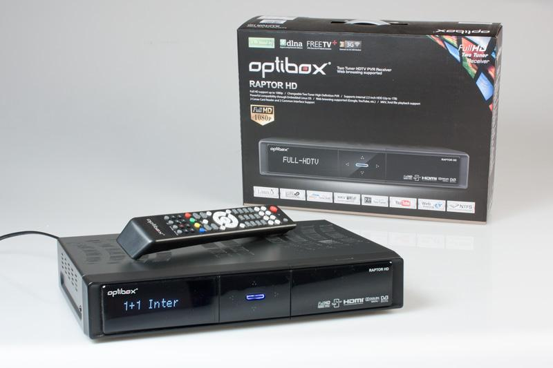 Optibox Raptor HD.