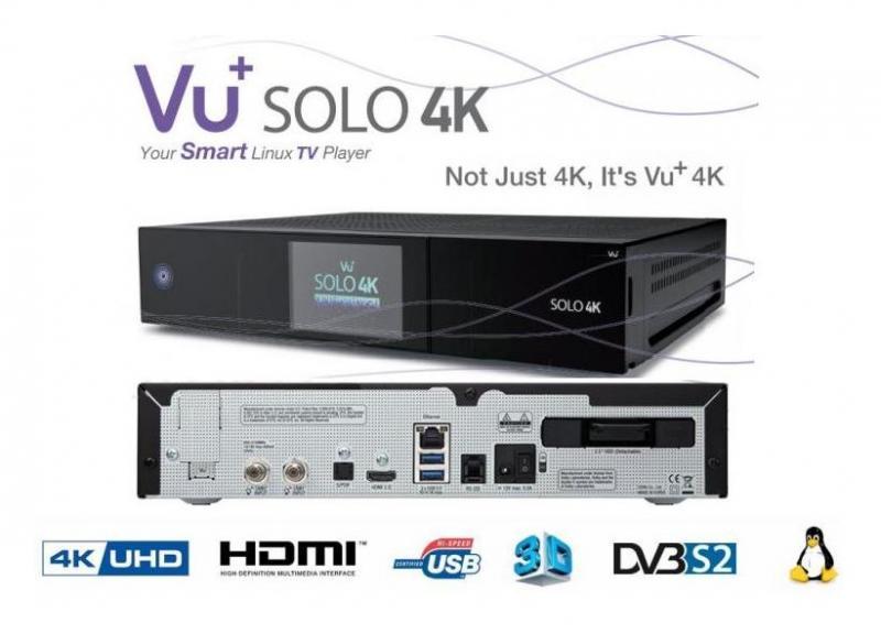 VU+ Solo 4K.