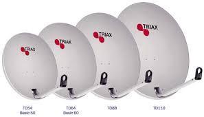 Спутниковая антенна Triax TD64 - 0,64м. (Дания).