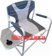 Фото Мебель туристическая Кресло алюминиевое со столиком FC 770-065L