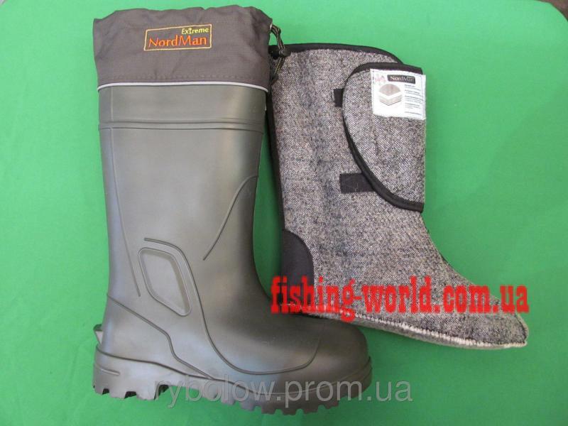 Фото Обувь для рыбаков и охотников Сапоги зимние NORDMAN Extrem -60