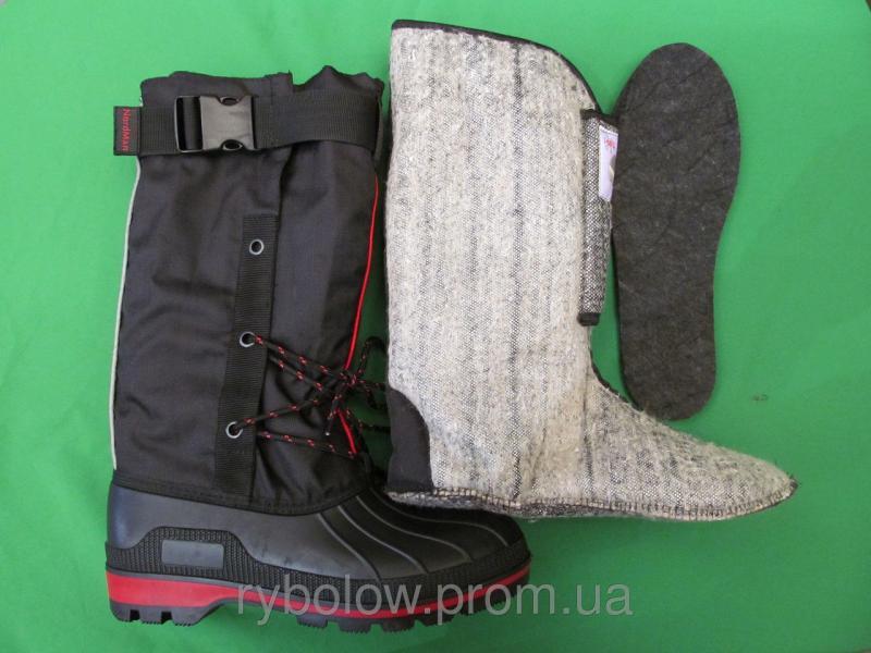 Сапоги зимние NORDMAN NEW RED -50
