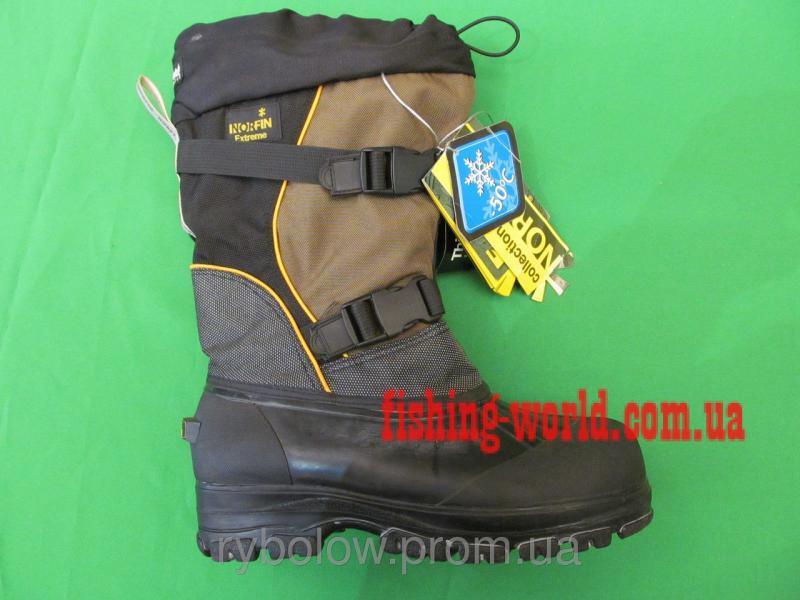 Фото Обувь для рыбаков и охотников Сапоги зимние Norfin Extreme