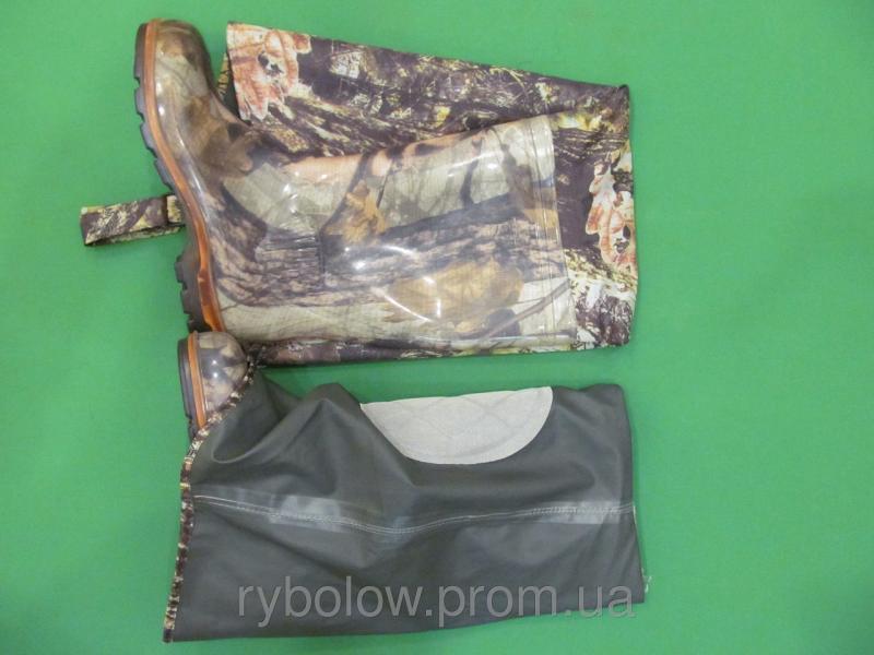 Фото Обувь для рыбаков и охотников, Заброды и забродные костюмы Сапоги Рыбацкие Псков - Заброды ( Дубок )