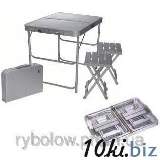 Стол и 2 стула, комплект кемпинговый туристический TA-200 купить в Харькове - Стулья туристические складные, стулья садовые