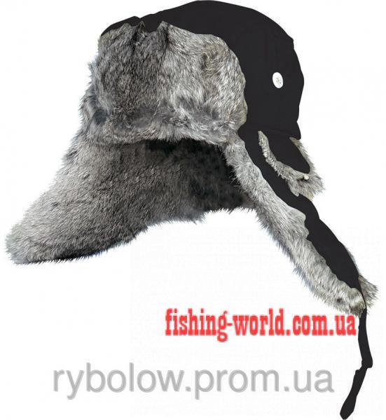Фото Одежда для рыбаков и охотников, Головные уборы, Зимние шапки Шапка Norfin Ardent Black