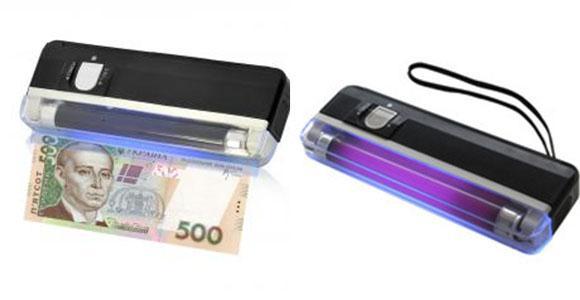 Карманный ручной  Детектор валют фонарик  DL-01
