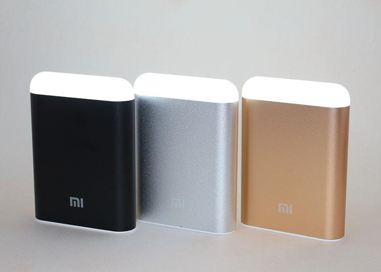 Power bank MI 9800mAh 2USB(1A+2A)+ фонарик