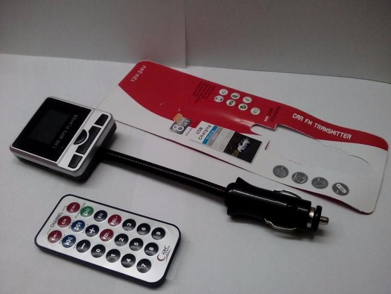 ФМ FM трансмиттер модулятор авто MP3 8 в 1 9013