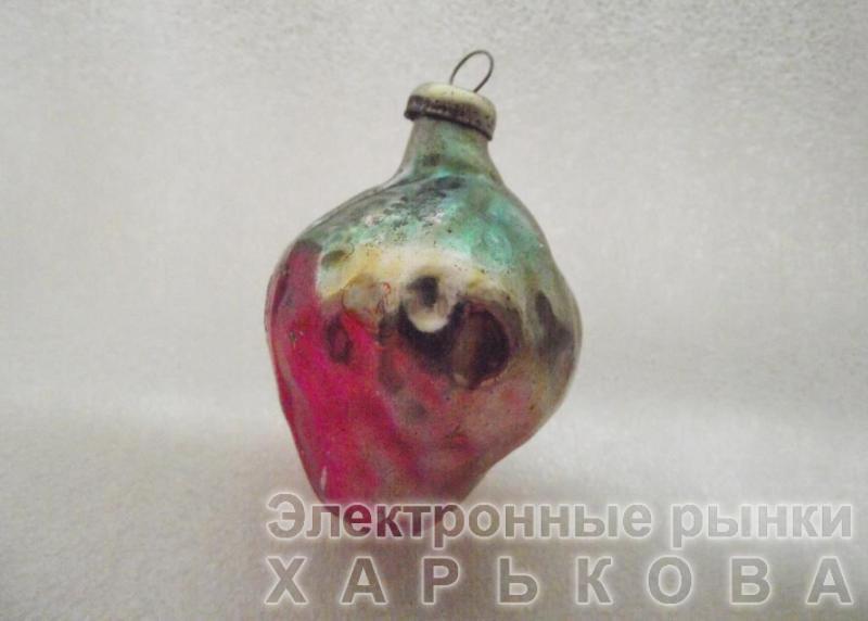Елочная игрушка СССР «16» - Елочные игрушки на рынке Барабашова