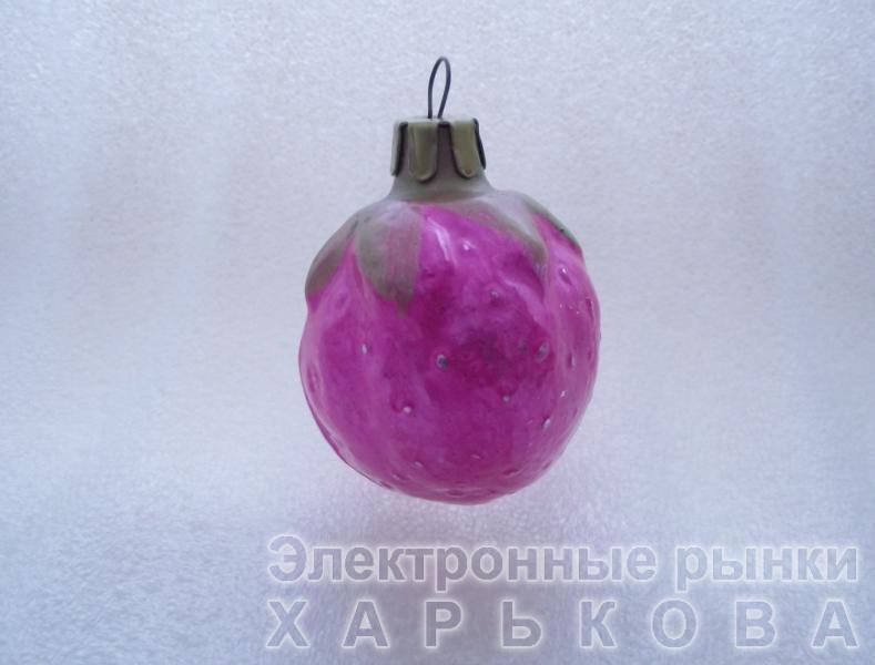 Елочная игрушка СССР «18» - Елочные игрушки на рынке Барабашова