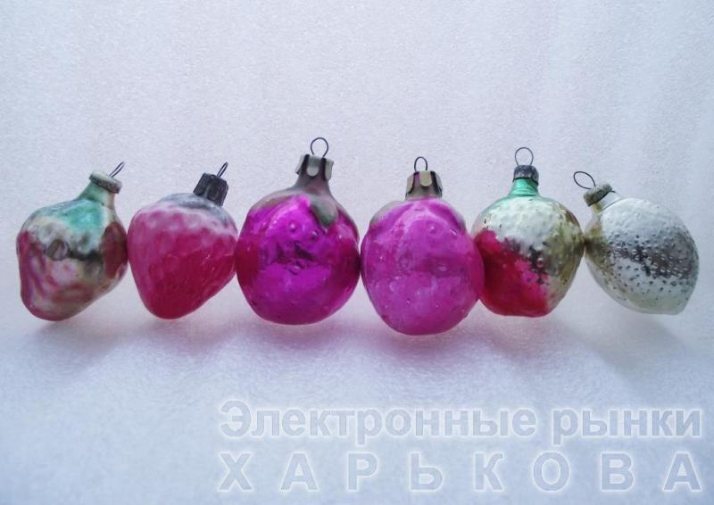 Елочная игрушка СССР «200» - Елочные игрушки на рынке Барабашова