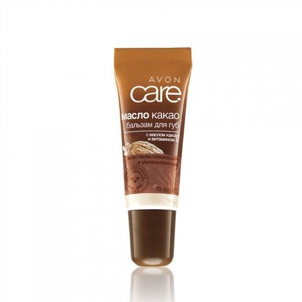 Відновлювальний зволожувальний бальзам для губ з маслом какао і вітаміном Е