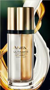 Фото Anew ultimate 45+ Подвійний еліксир для обличчя «Омолодження. Перевага»: сироватка та олія