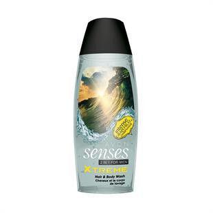 """Шампунь-гель для душа для мужчин с дезодорирующим эффектом """"Экстрим"""", 500 мл"""