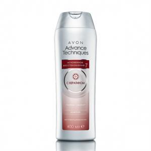 """Фото Шампунь Advance Techniques 400мл Шампунь для поврежденных волос """"Мгновенное восстановление 7"""", 400 мл"""