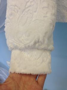 Фото Свадебные шубки, болеро и накидки Шубка-курточка