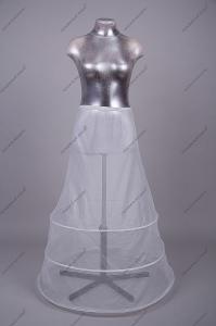 Фото Подъюбник для свадебного платья, кринолин свадебный Кринолин 3 кольца