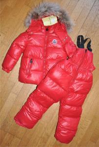 Фото Одежда, Одежда для девочек, Верхняя одежда Комплект красный Монклер
